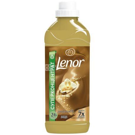 Lenor, 930 мл, кондиционер для белья, Золотая орхидея, ПЭТ