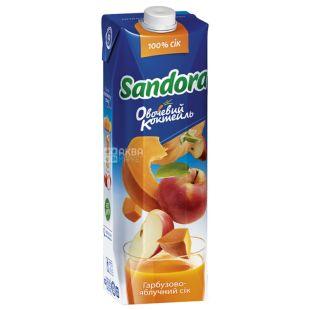 Sandora Овочевий коктейль, 0,95 л, сік, Гарбузово-яблучний, м/у