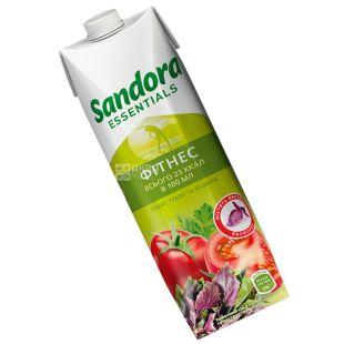 Sandora Essentials, Фітнес, Томатний з базиліком, 0,95 л, Сандора, Нектар натуральний, з сіллю