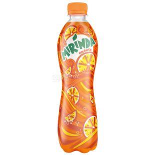 Mirinda, 0,5 л, солодка вода, Апельсин, ПЕТ
