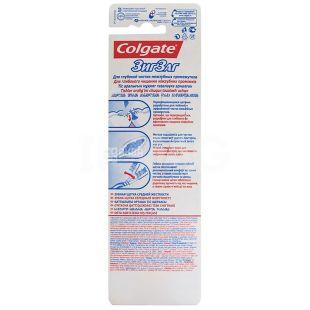 Colgate, 3 pcs., Toothbrush, ZigZag, m / s