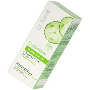 Dr. Sante, 15 ml, Eye Cream, Refreshing, Cucumber Balance Control, m / s
