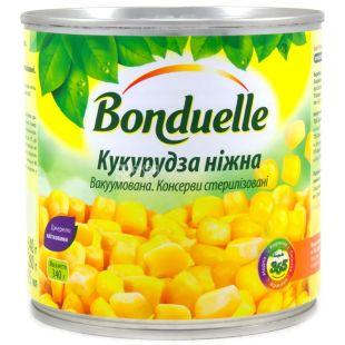 Bonduelle, 340 г, кукуруза, Нежная, ж/б