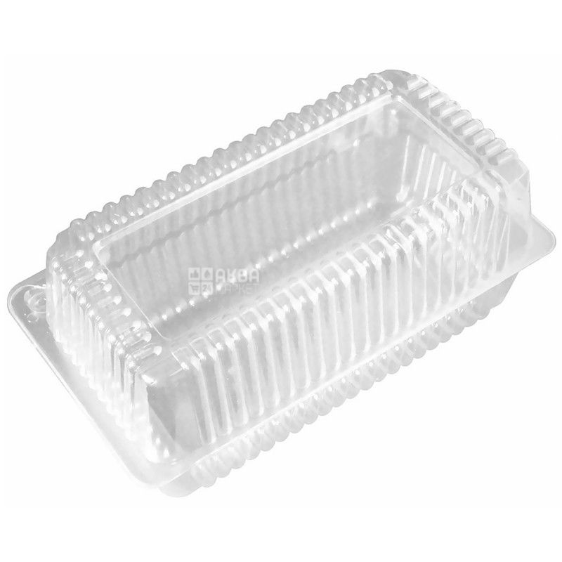 Food container, 100 pcs., 1600 ml, 130 x 230 x 68 mm, m / s