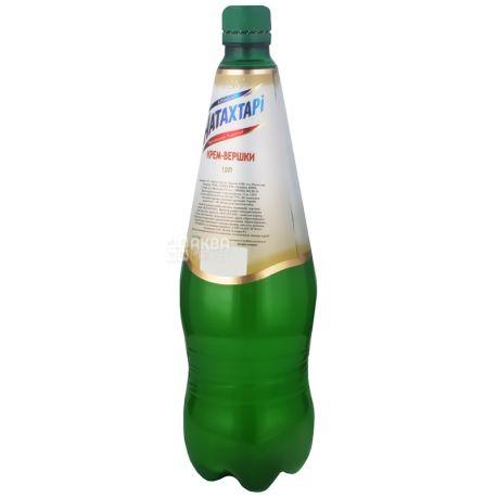 Натахтари, Крем-сливки,1 л, Лимонад, ПЭТ