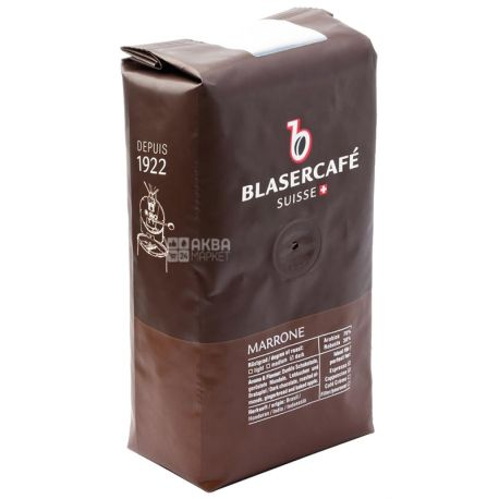 BlaserСafe, Marrone, 250 г, Кофе Блазер, Марроне,темной обжарки, в зернах