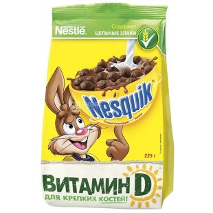 Nesquik, 225 g, ready breakfast, m / s