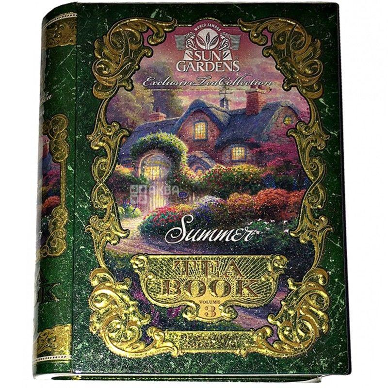 Sun Gardens, 100 г, чай зеленый, Tea Book №3 Summer, ж/б