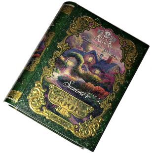 Sun Gardens, Tea Book Summer, Volume 3, Чай Чай Сан Гарденс, Книга Лето, Том 3, зеленый, крупнолистовой, ж/б