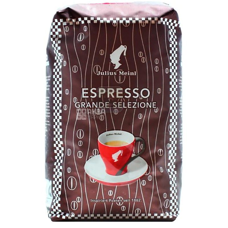 Julius Meinl Espresso Grande Selezione, 500 г, Кава Юліус Мейнл Еспрессо, середнього обсмаження, в зернах