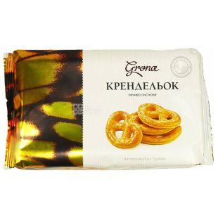 Grona, 250 г, печенье, Кренделек, м/у