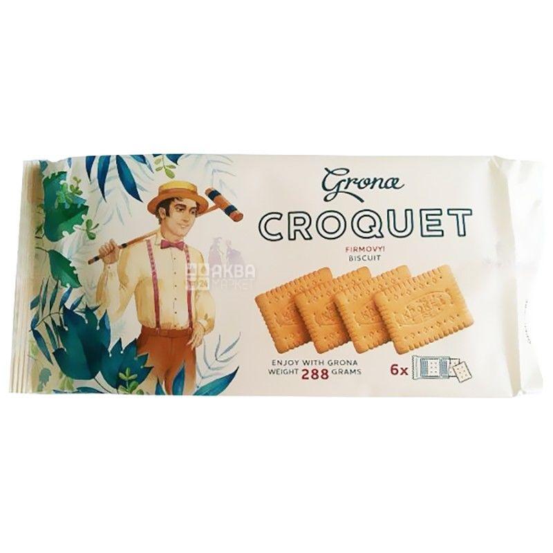 Grona, 288 г, печенье, Крокет, м/у