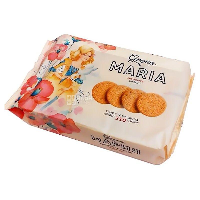 Grona, 310 г, печенье, Мария, м/у