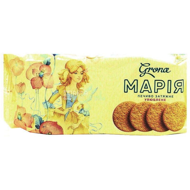 Grona, 77 г, печенье, Мария, м/у