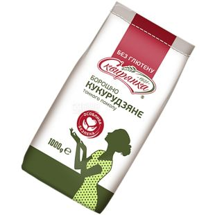 Skviryanka, 1 kg, cornmeal, Fine grinding, Gluten-free, m / s