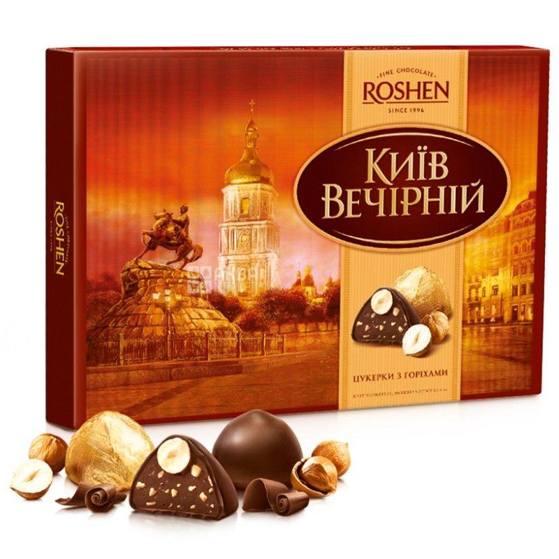 Roshen Вечерний Киев, 176 г, конфеты, С орехами, м/у
