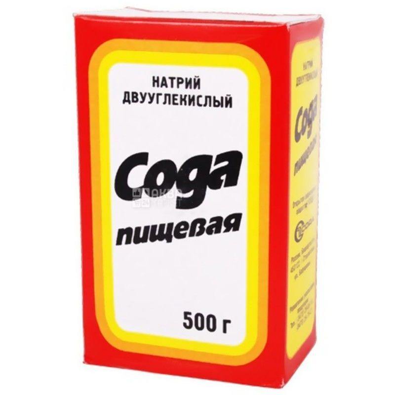 Сода, 500 г, пищевая, м/у