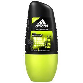 Adidas, 50 мл, дезодорант-антиперспирант, Pure Game Sport Sensations, ПЭТ