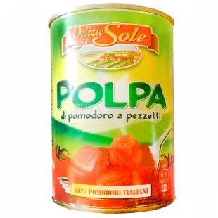 Delizie dаl Sole, 0.4 кг, помідори консервовані