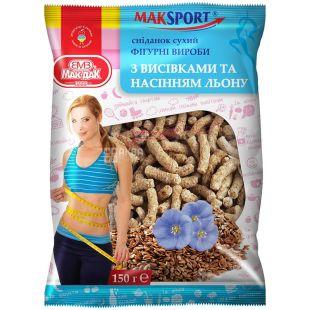 Мак-даК, 200 г, фігурні вироби з висівками і насінням льону, м/у