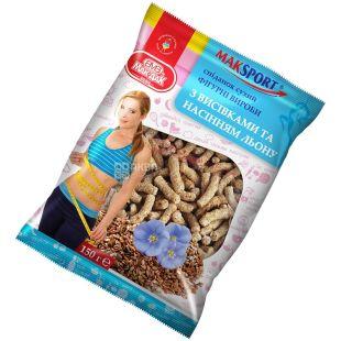 Мак-даК, 200 г, фигурные изделия с отрубями и семенами льна, м/у