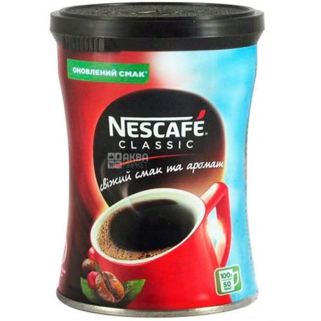 Nescafe Classic, 100 г, Кава Нескафе Классік, розчинний