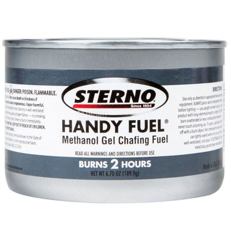 Fuel, 200 g, for chafindish and fondue, w / w
