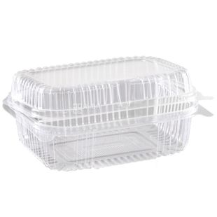 Food container, 100 pcs., 1180 ml, 130x170x68 mm, m / s