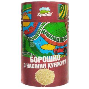Моя Країна, 300 г, борошно, З насіння кунжуту, тубус