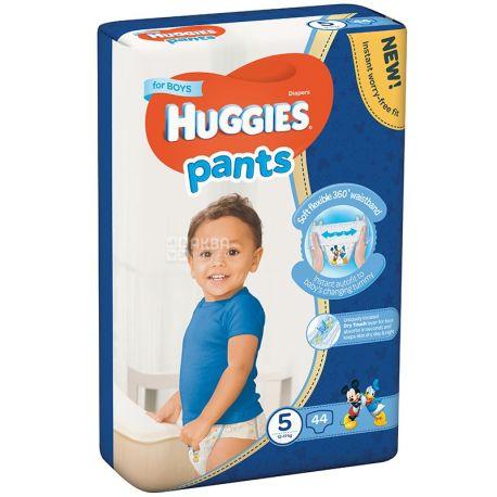 Huggies, 5 / 48 шт. 13-17 кг, подгузники-трусики для мальчиков