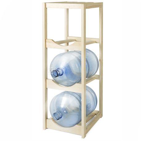 Полка под 3 бутыли, Деревянная разборная, WT3 БУК