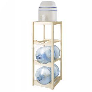 ViO, Підставка дерев'яна розбірна WT-3, під 3 бутлі, БукShelf for 3 bottles, Wooden collapsible, WT3 BEECH