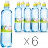 Akvulya, pack of 6 pcs. 0.5 l each, Non-carbonated water for children, PET, PAT