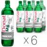 Donat Mg, 0,75 л, Упаковка 6 шт., Донат, Вода сильногазована, з магнієм, скло