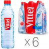 Vittel, Packing 6 pcs. on 0,5 l, Water not aerated, Mineral, PET, PAT
