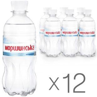Моршинская, 0,33 л, Упаковка 12 шт., Вода минеральная негазированная, ПЭТ