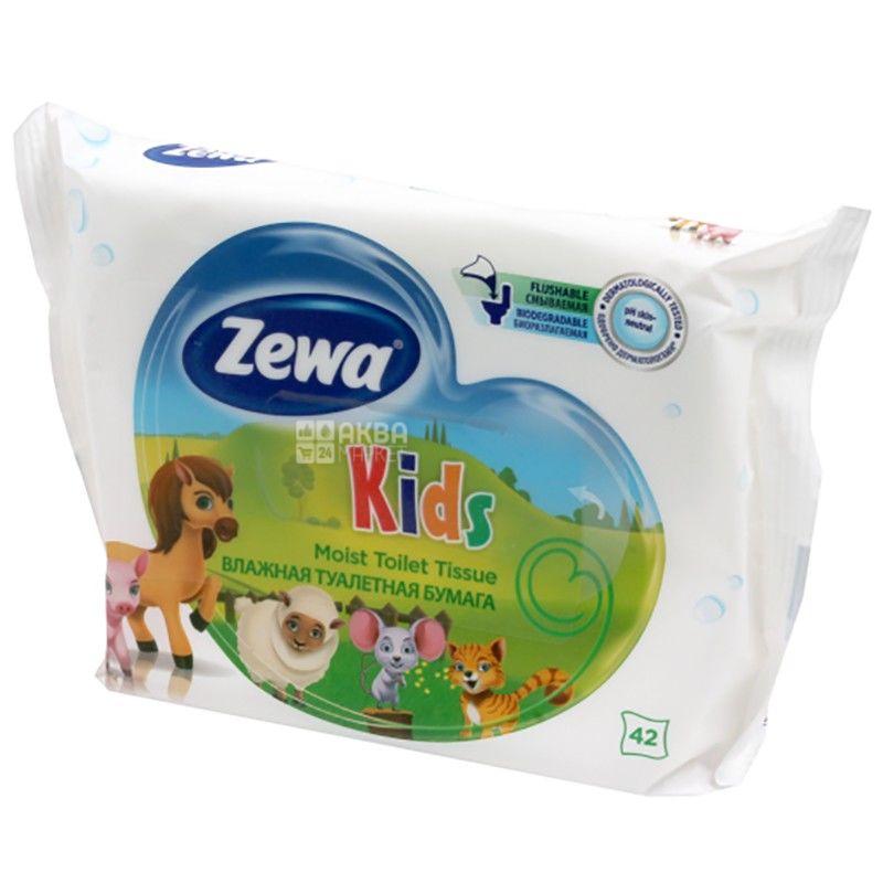 Zewa Kids, 42 pcs., Wet toilet paper