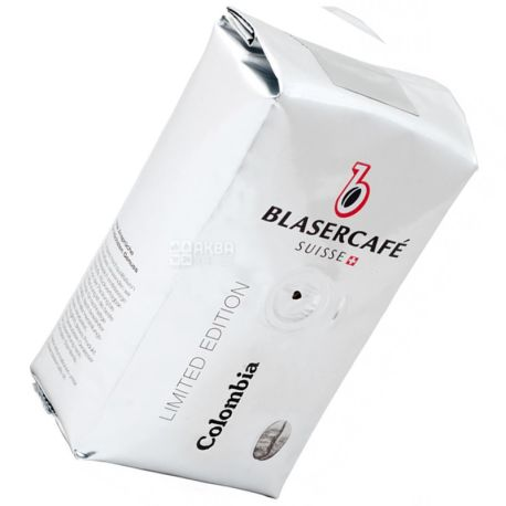 BlaserСafe, Colombia, 250 г, Кава Блазер, Колумбія, темного обсмаження, в зернах