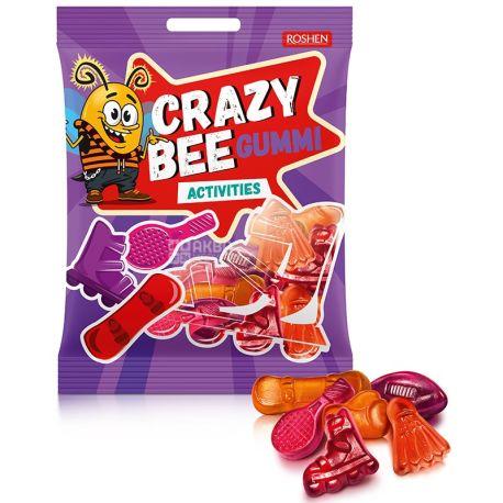 Roshen, 100 г, конфеты желейные, Crazy Bee Gummi, м/у
