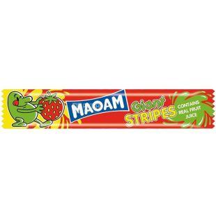 Haribo, 15 г, жевательные конфеты, Маоам, Гигантские полоски, м/у
