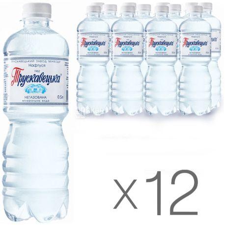 Трускавецкая Нафтуся, 0,5 л, Упаковка 12 шт., Вода негазированная, ПЭТ
