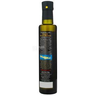 Ellada, 250 мл, масло оливковое, Organic Extra Virgin, стекло