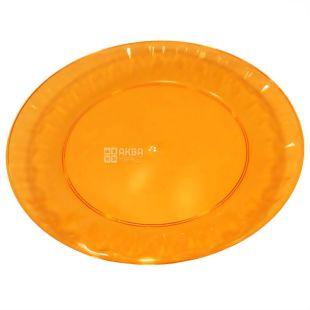 Тарелка стеклопластик одноразовая, 10 шт., диаметр 160 мм, ТМ Промтус