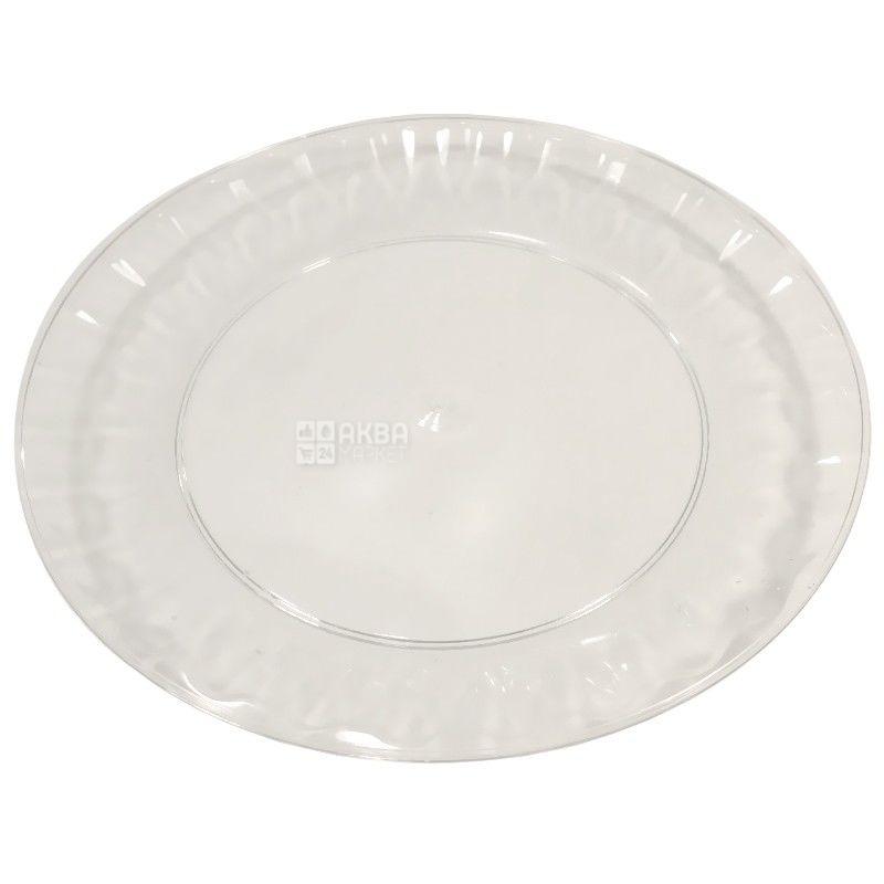 Промтус, Тарелки стеклоподобные Ассорти Ø16 см, 10 шт.