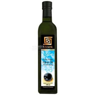 Ellada, 500 мл, масло оливковое, Delicate Extra Virgin, стекло