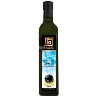 Ellada, 500 мл, Олія оливкова, Delicate, Extra Virgin, скло