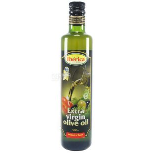 Iberica, 500 ml, Olive oil, Extra Virgin, glass