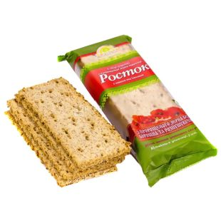 Sprout, 120 g, bread, From sprouted wheat grains, With poppy seeds and raisins, m / s