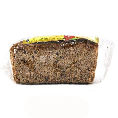 УкрЭкоХлеб, 330 г, хлеб зерновой, Без дрожжей, Солнышко, С семечками подсолнуха, м/у