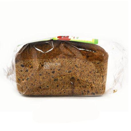 УкрЕкоХлеб, 330 г, хліб зерновий, Без дріжджів, Молодість, м/у